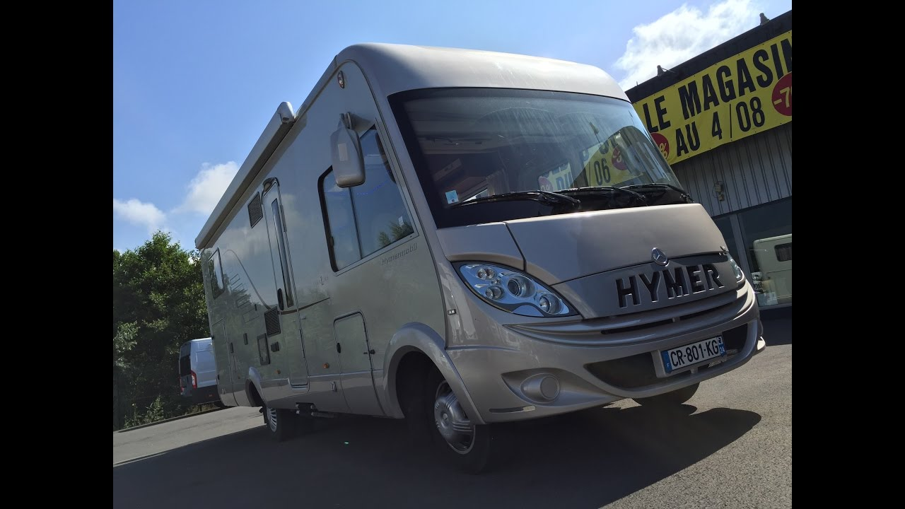 Hymer camping car occasion
