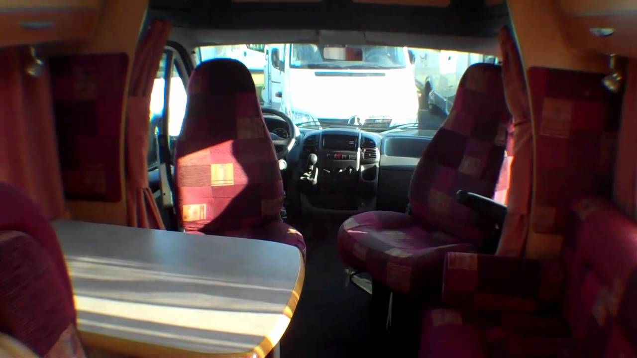 Camping car chausson allegro 69 occasion