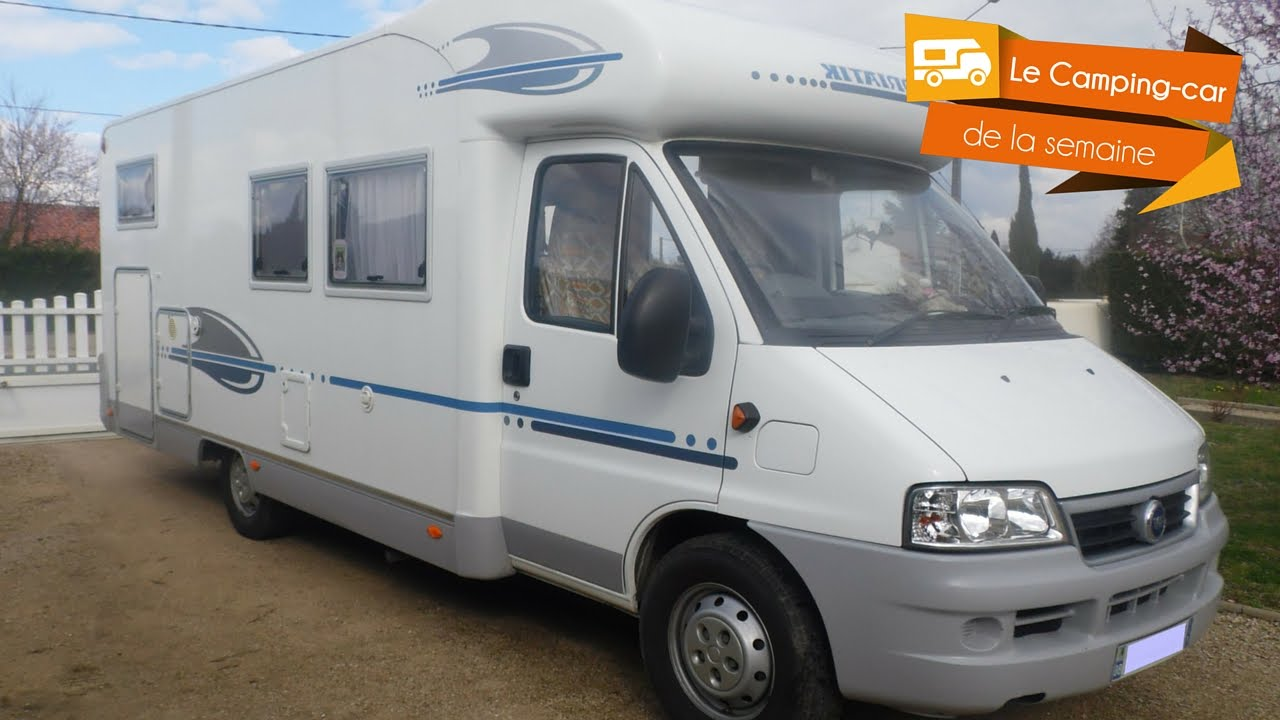 Camping car adria 650 sp occasion