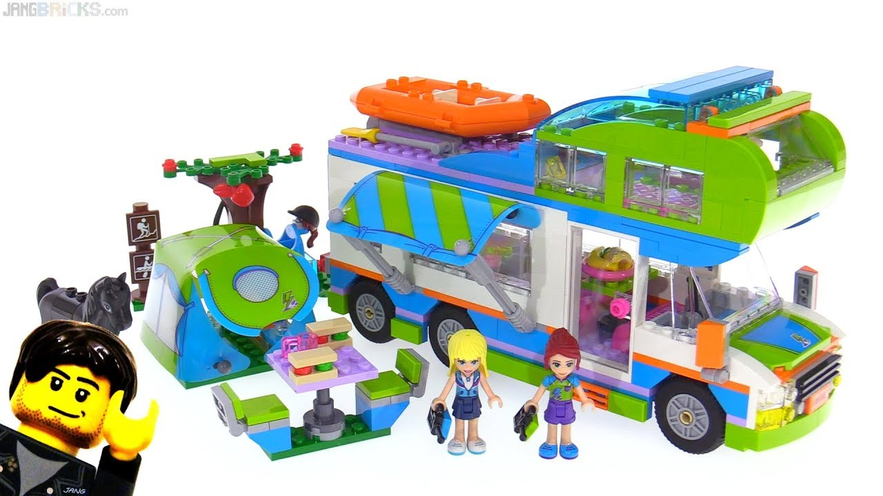 Camping car lego friends camping car eura mobil