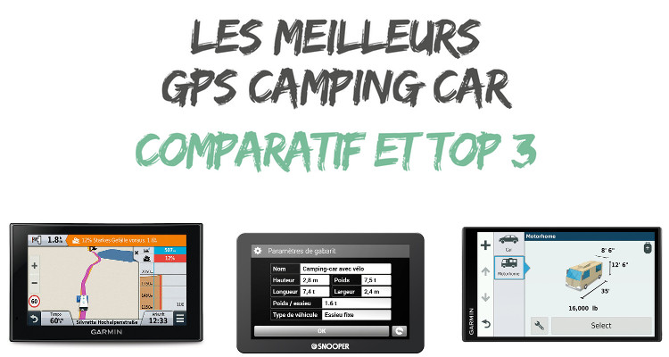 Gps garmin camping car