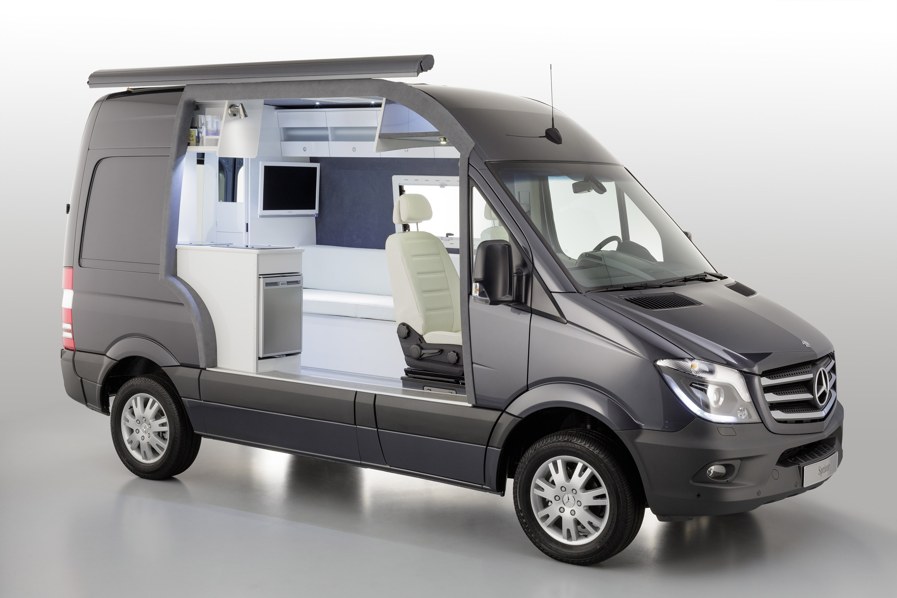 Camping car occasion van