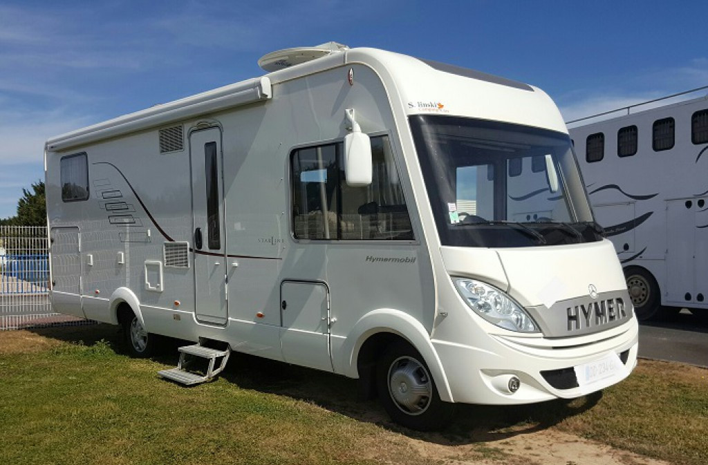 Camping car hymer occasion