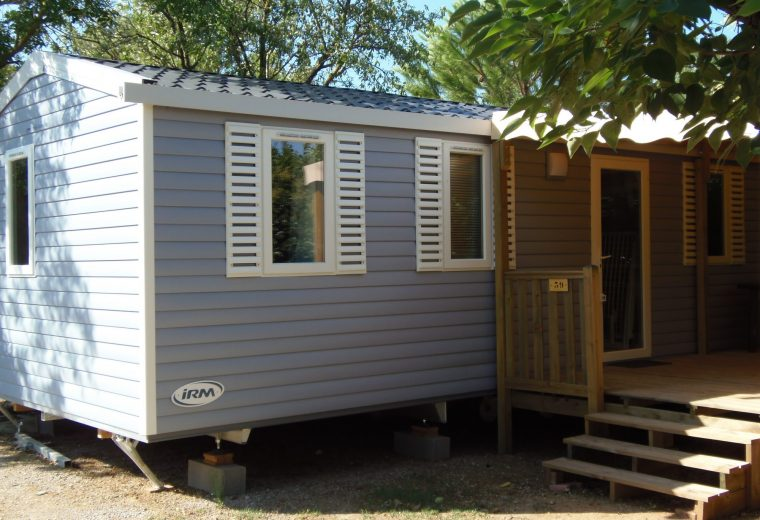 Mobilhome a vendre dans camping gard
