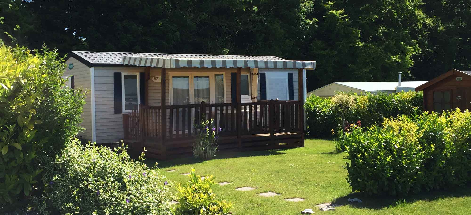 Mobilhome a vendre dans camping 80