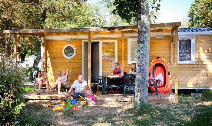 Mobilhome camping vendee