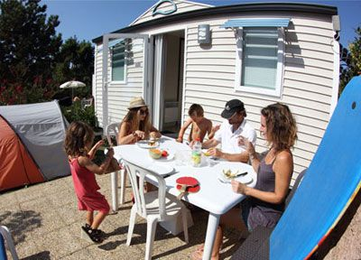 Camping mobilhome pays basque