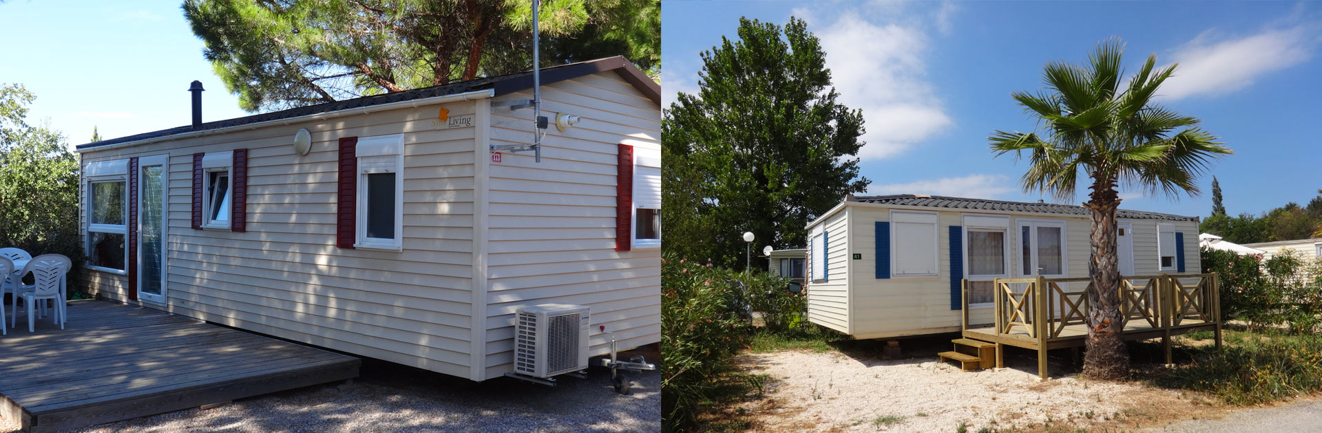 Mobil home occasion sur emplacement