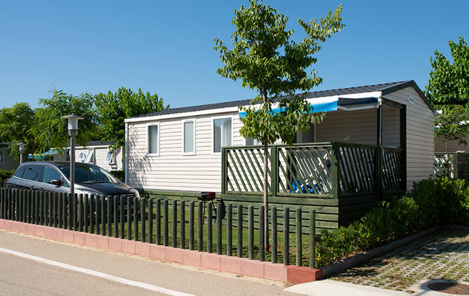 Camping mobilhome barcelone