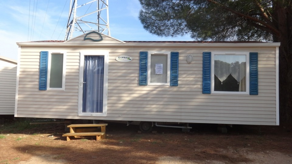 Mobil home gavray occasion