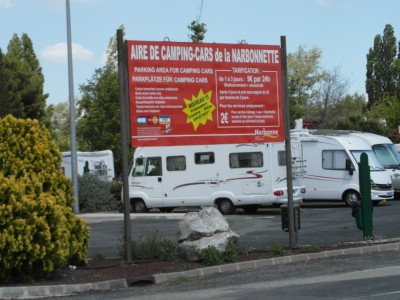 Aire camping car portugal