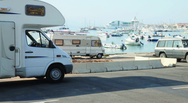 Aire camping car corse