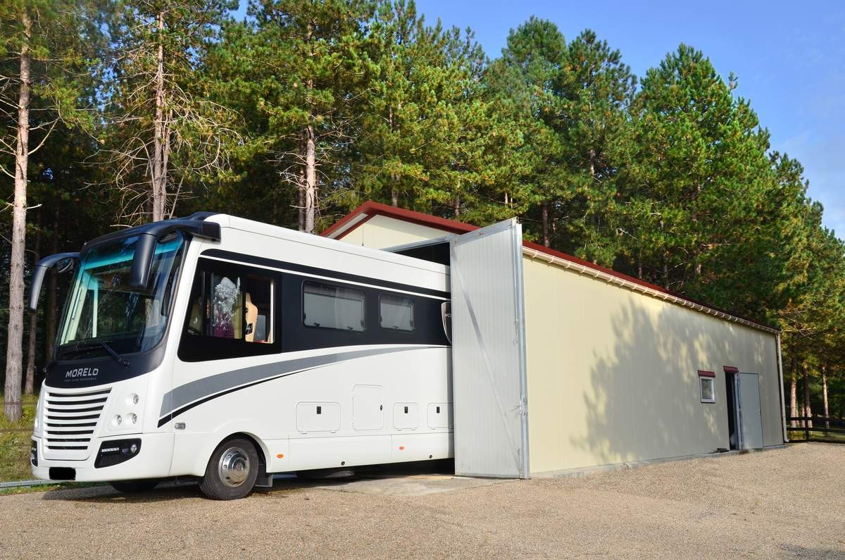 Abri occasion pour camping car