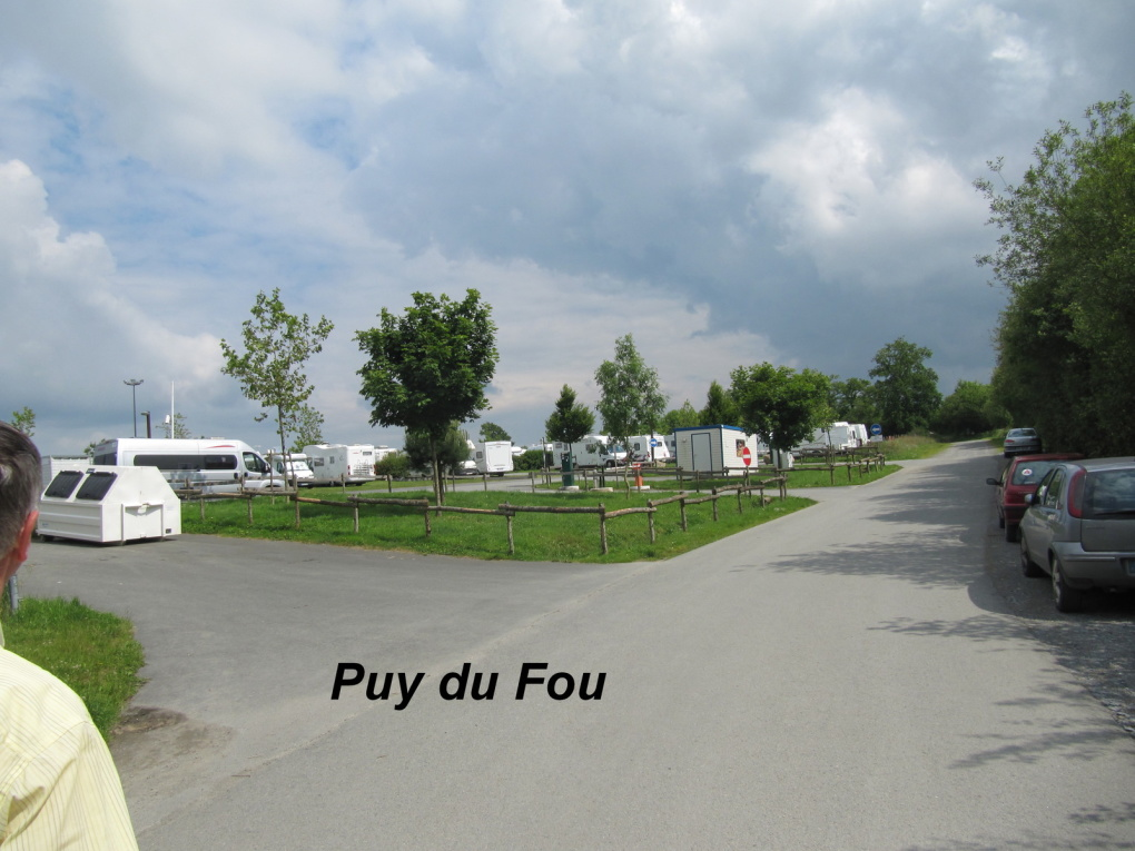 Puy du fou parking camping car