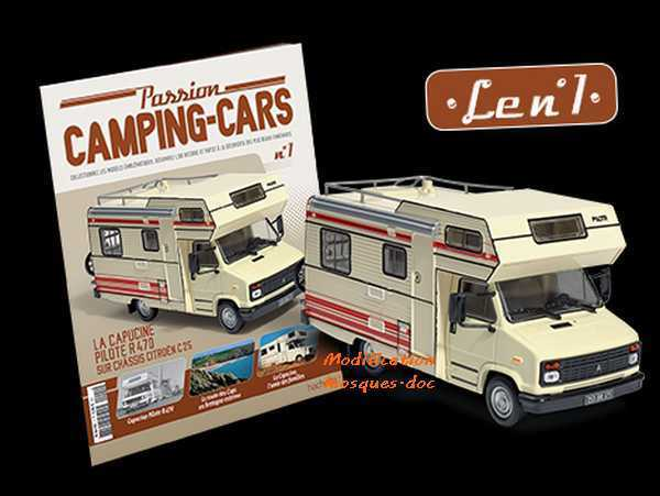 Camping car hachette