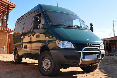 Mercedes sprinter 4×4 camping car occasion