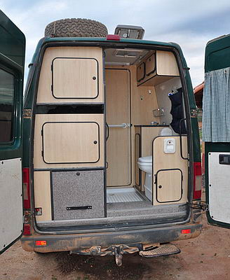 Camping car mercedes sprinter 4×4 occasion