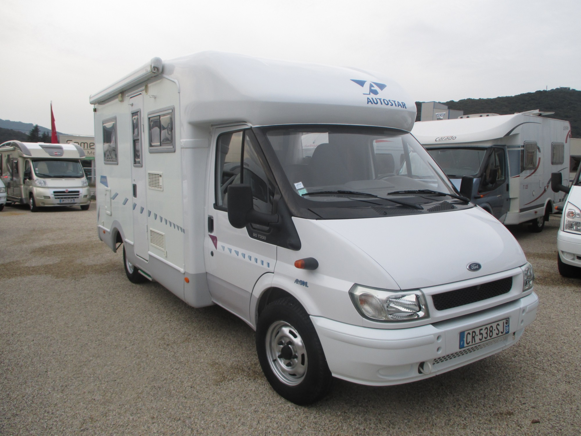 Camping car occasion autostar