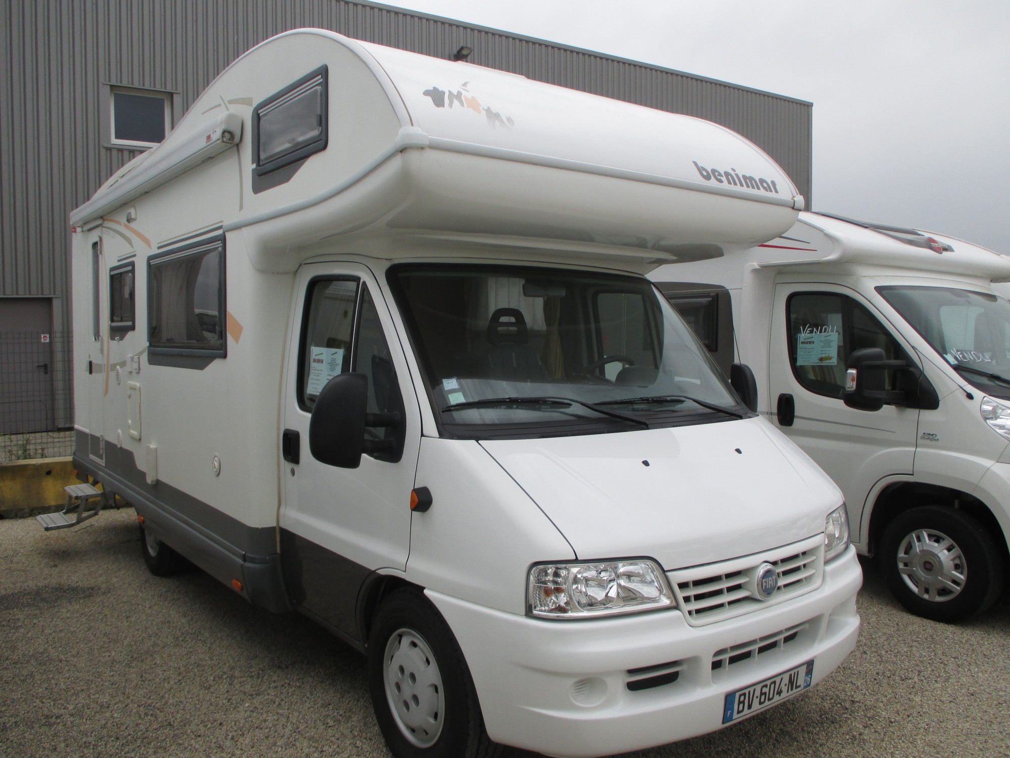 Camping car europe occasion