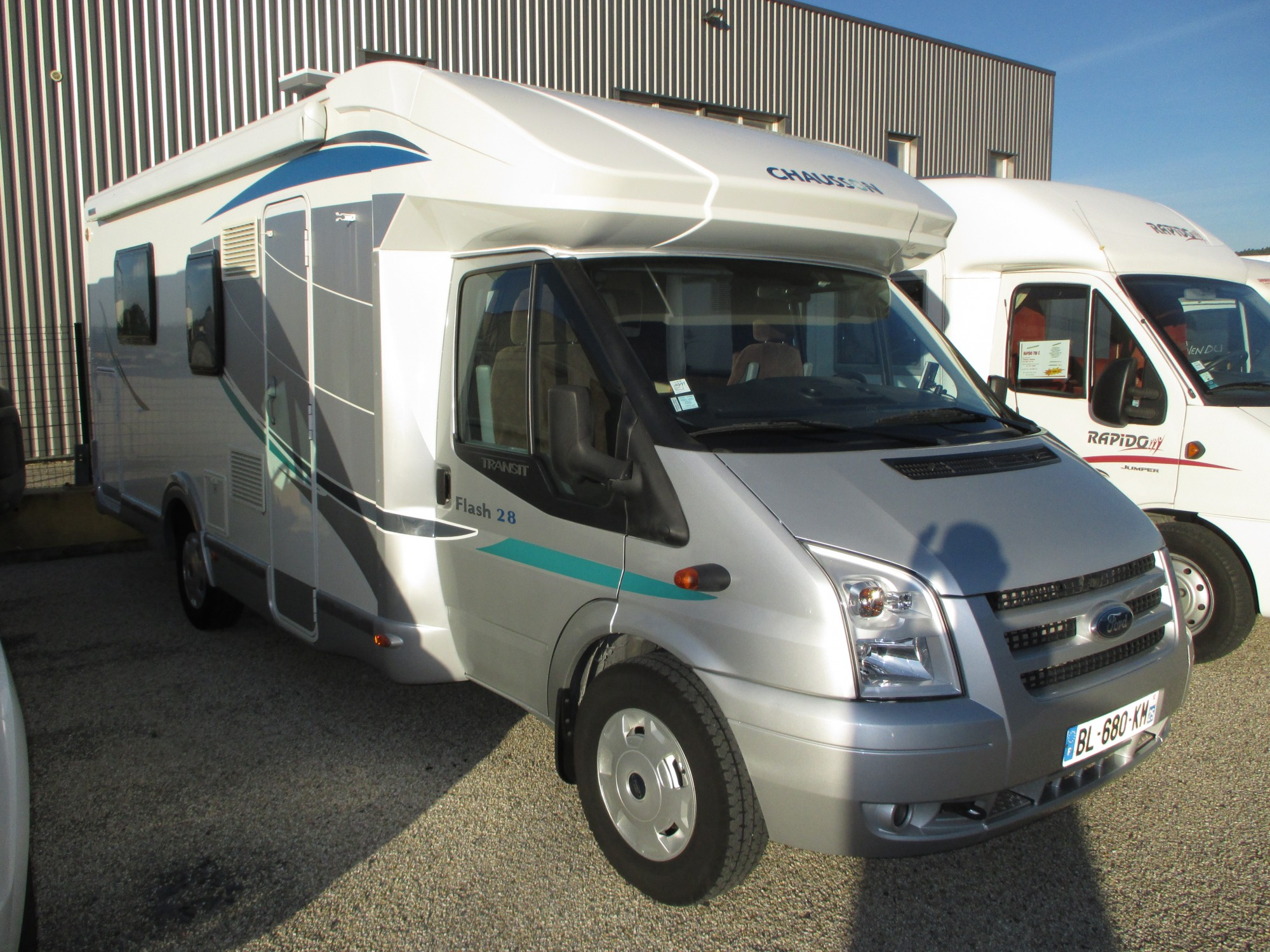 Camping car chausson flash 02 occasion