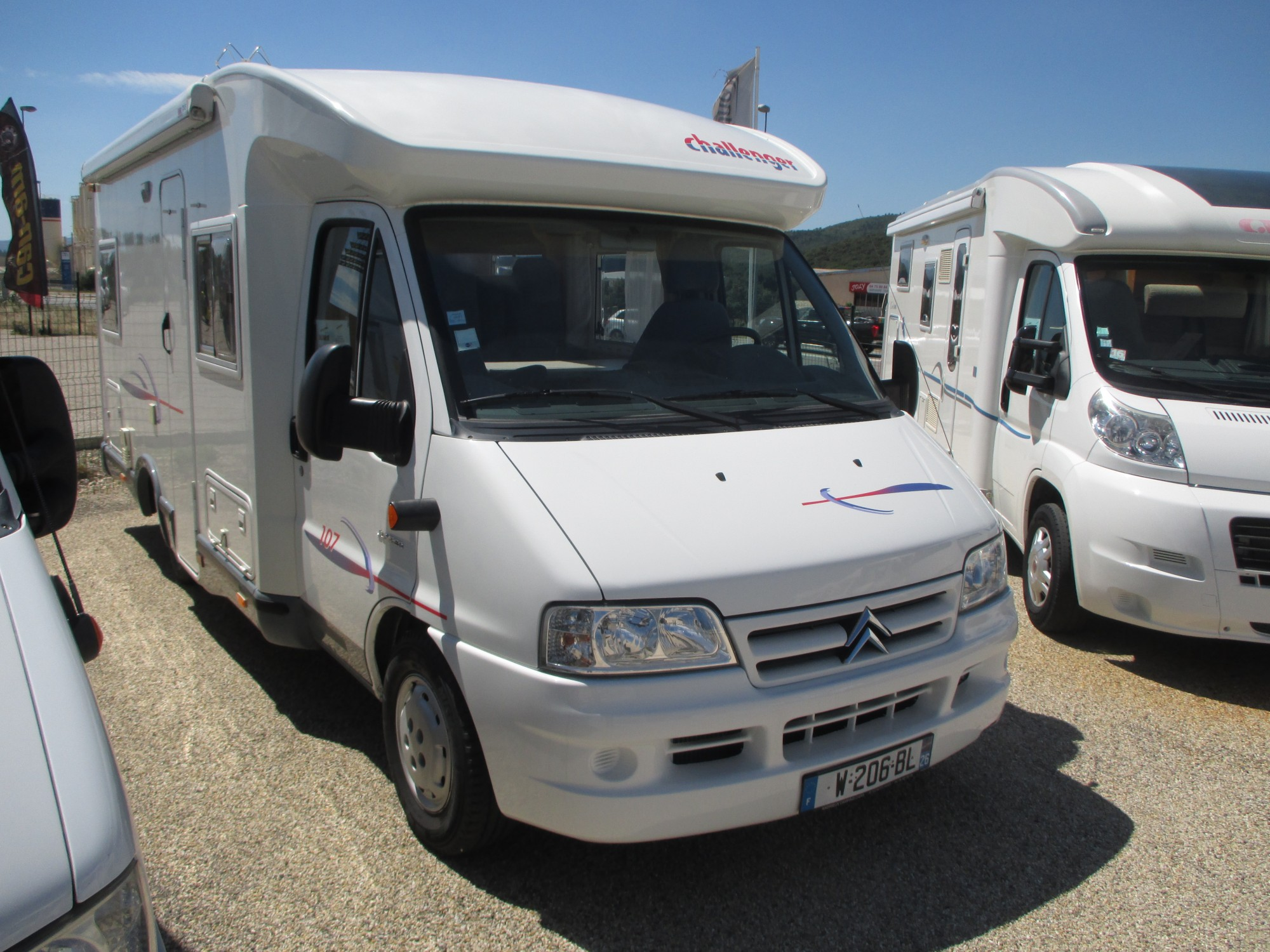 Fourgon camping car occasion rhone alpes