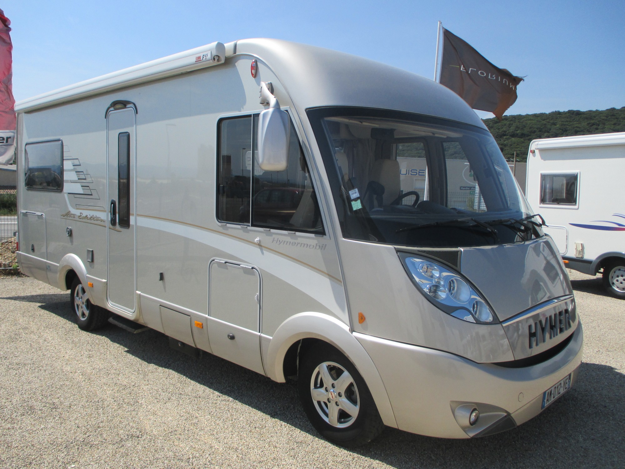 Camping car occasion hymer