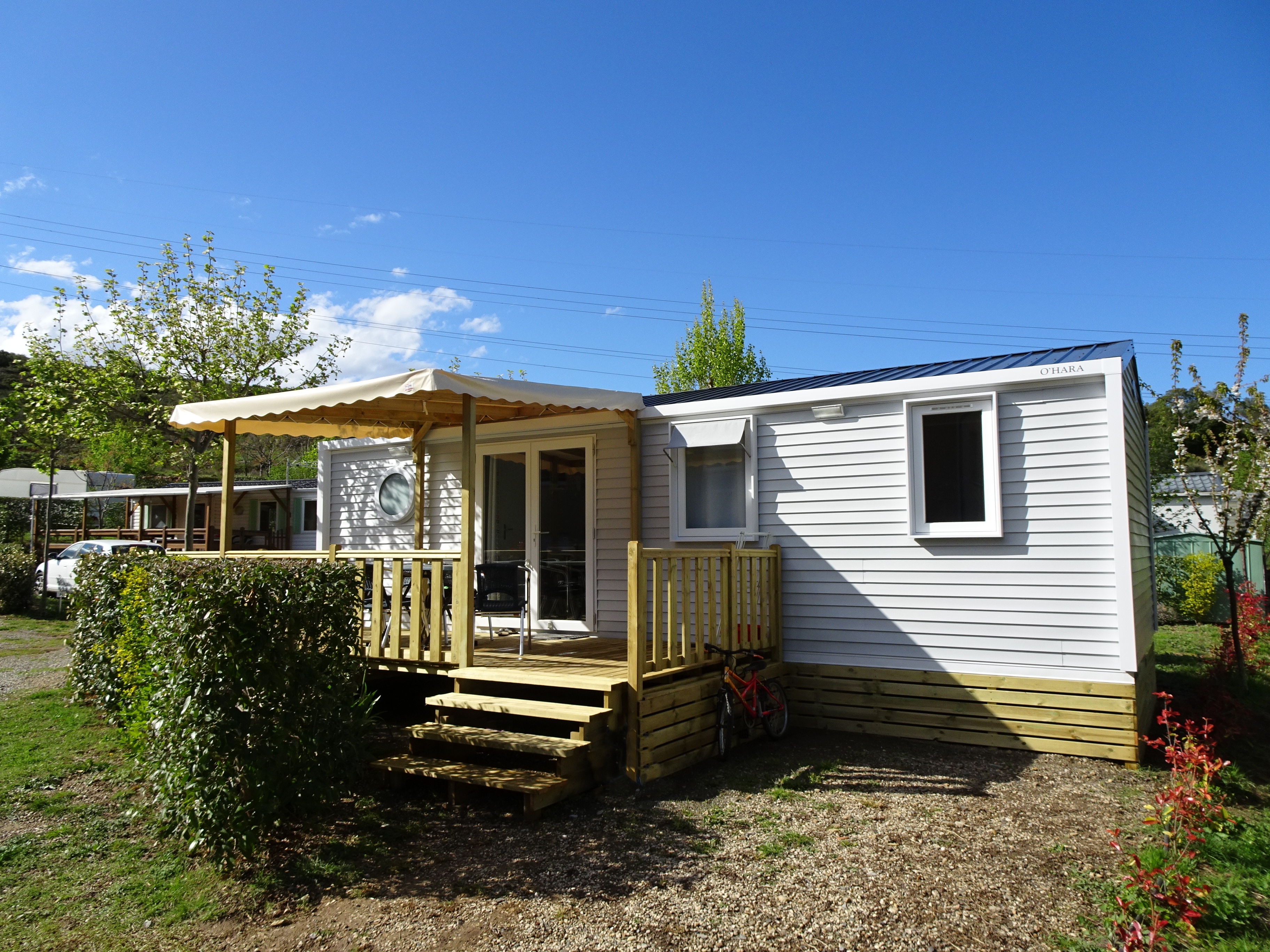 Mobilhome a vendre camping sud france