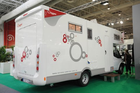 Camping car oxygen 7000 c occasion