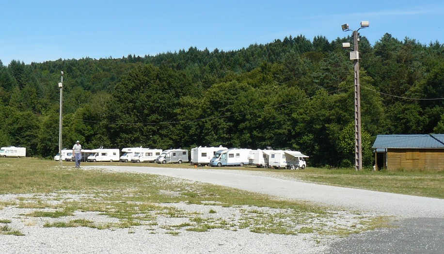 Aire camping car clermont ferrand