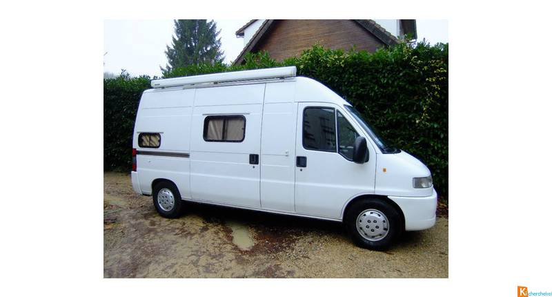 Peugeot boxer amenage camping car occasion