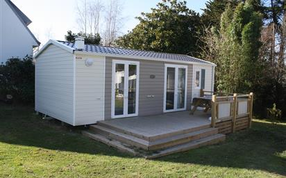 Mobil home occasion a vendre dans camping