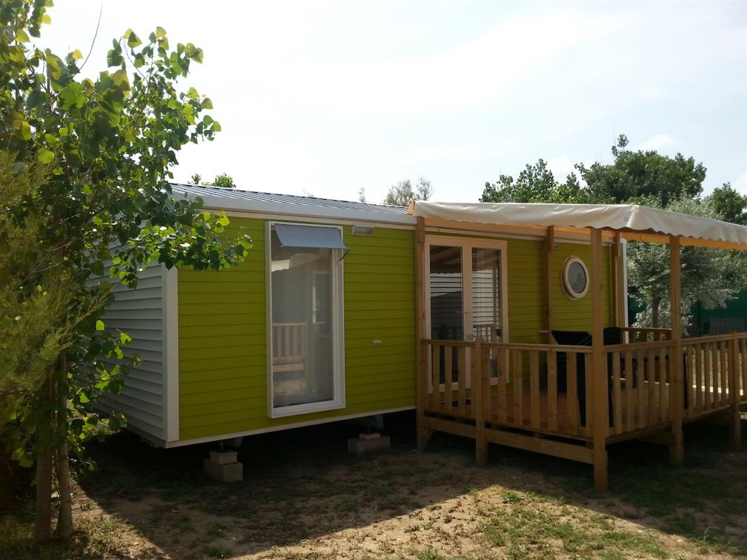 Camping mobilhome 10 personnes