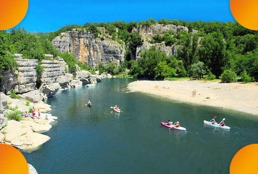Vacances camping mobil home ardeche