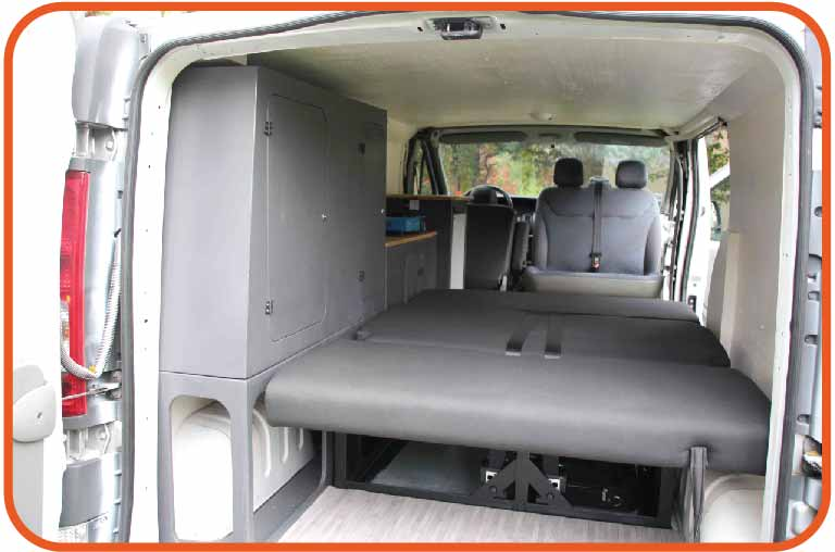 Amenagement transporter t5 camping car
