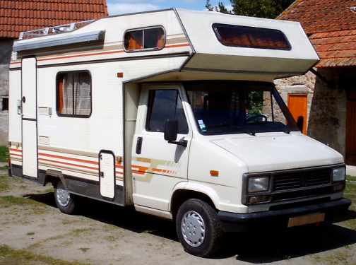 Camping car occasion c25 diesel