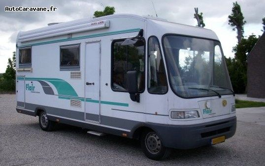 Camping car monocoque occasion