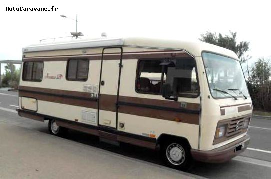 Camping car occasion voyageur