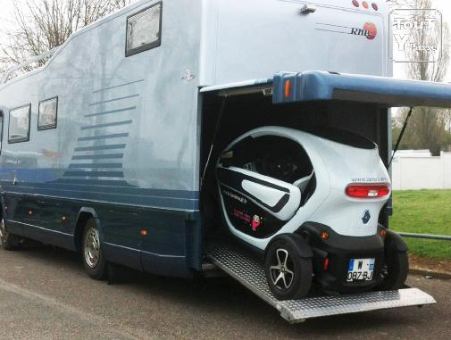 Camping car integral poids lourd occasion