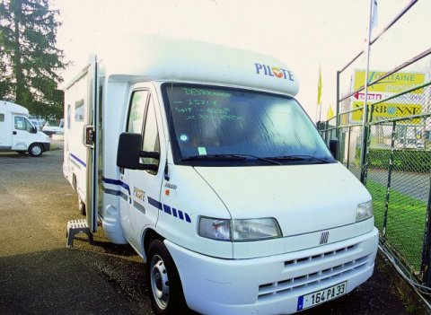 Camping car pilote p6 occasion