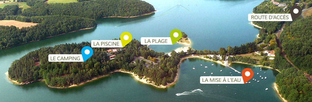 Vacances camping massif central