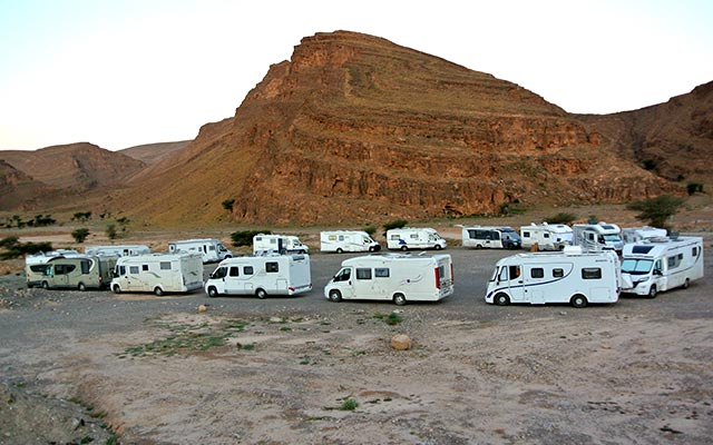 Vacance espagne camping car