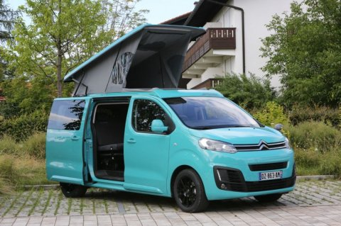 Citroen spacetourer camping car