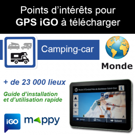 Gps camping car mappy