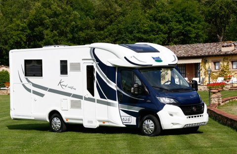 Camping car mc louis occasion lit central