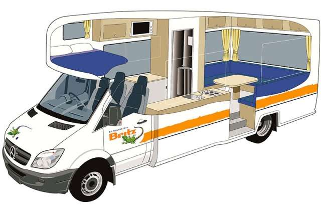 Camping car 4 personnes