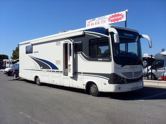 Camping car integral poids lourd occasion particulier