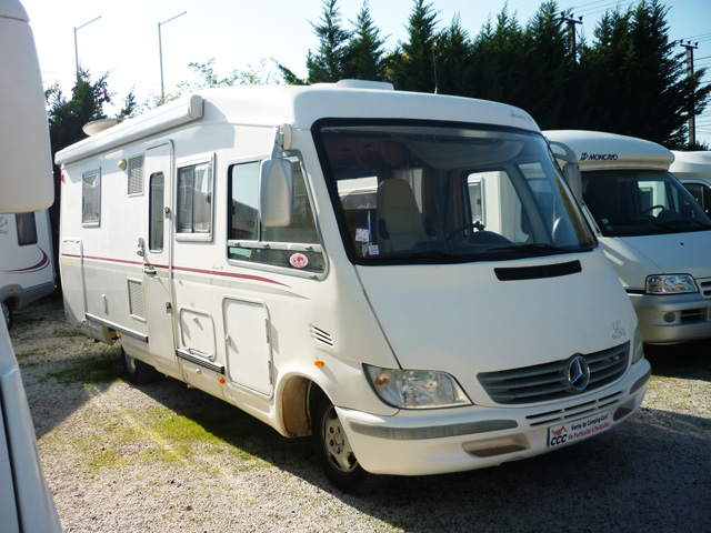 Camping car occasion le voyageur
