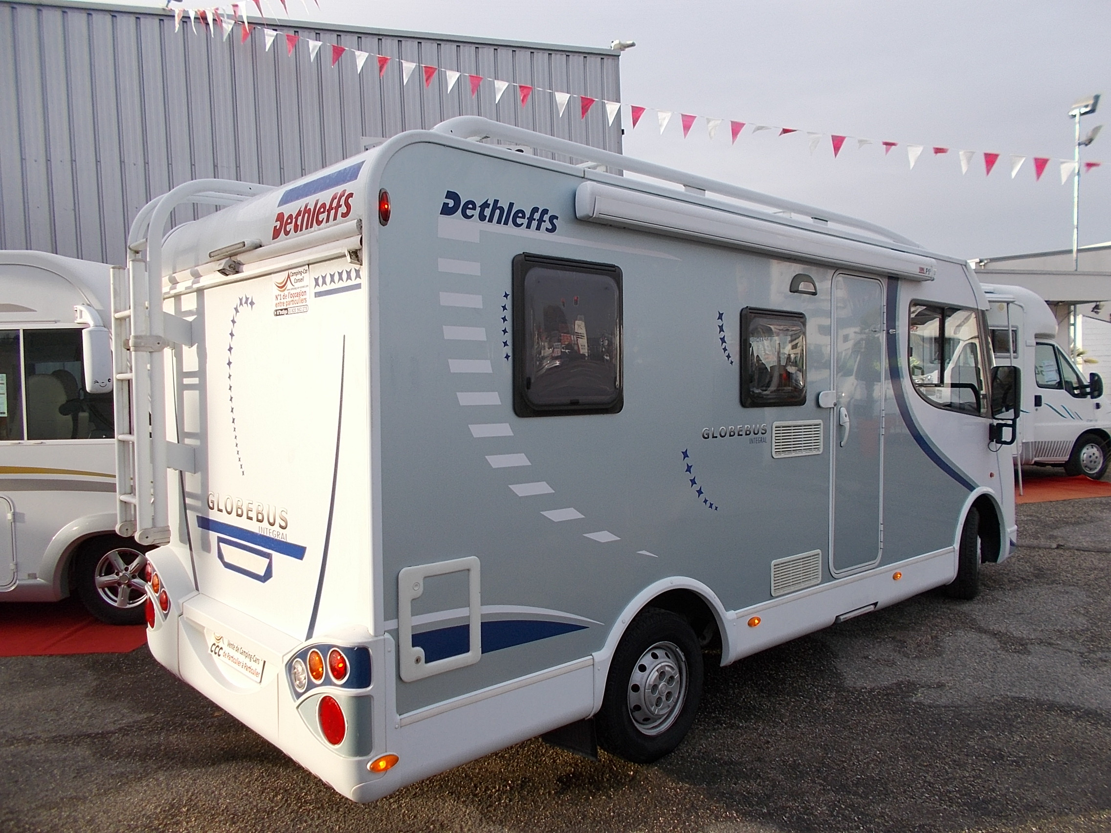 Camping car occasion dethleffs intégral