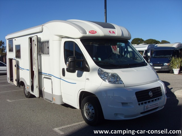 Camping car adria compact occasion