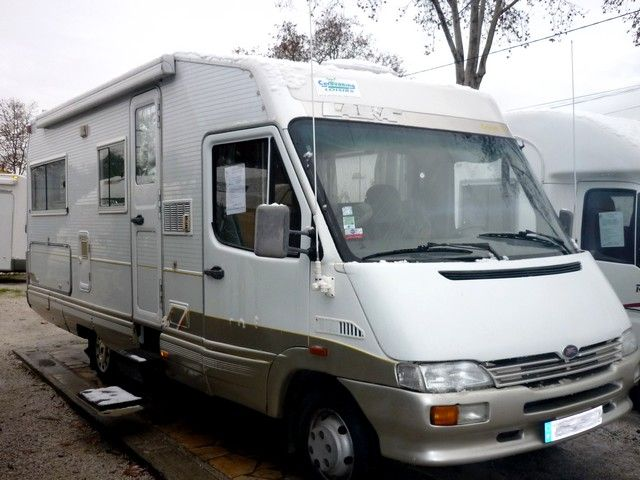 Camping car iveco laika occasion